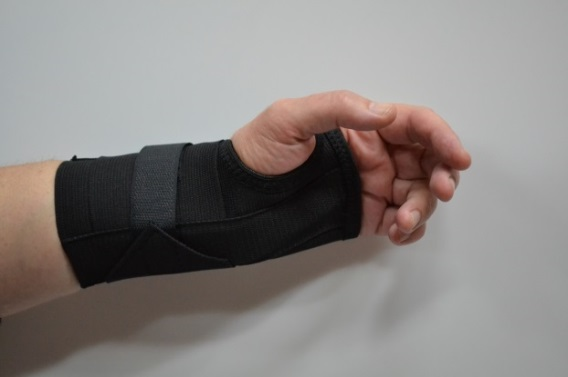 Figure 2. Example of a night splint
